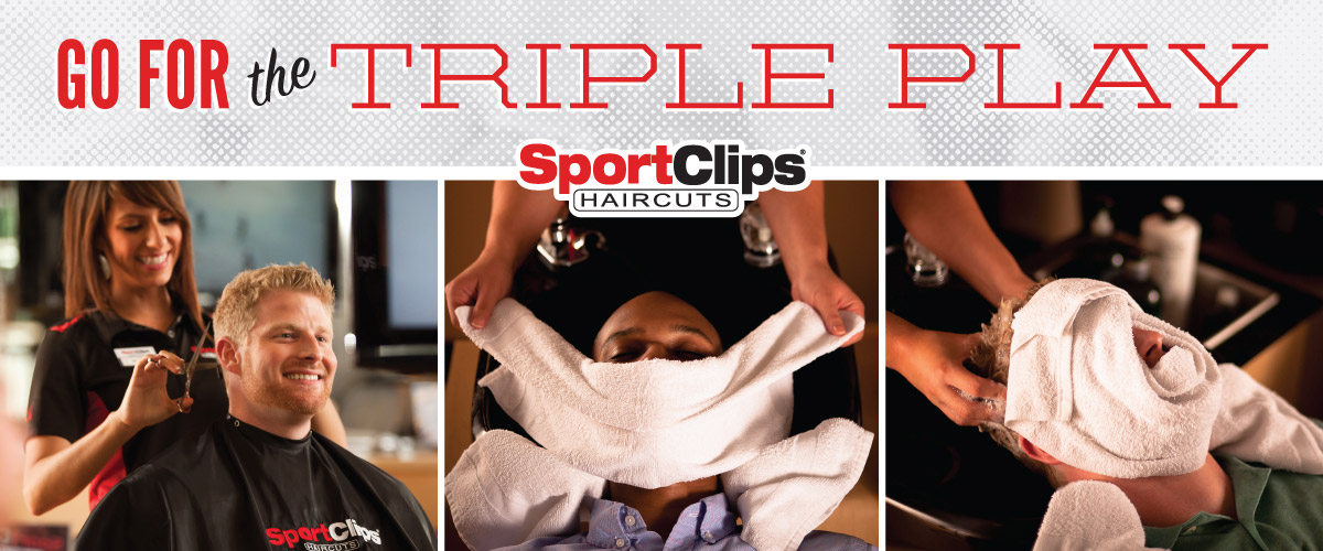 The Sport Clips Haircuts of NORTHCREST Triple Play